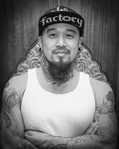 Tattoo Artist Eddie Lin