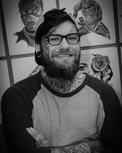 Tattoo Artist Zack