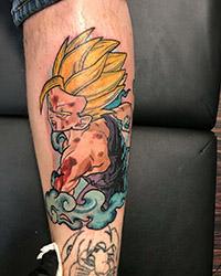 animation tattoo