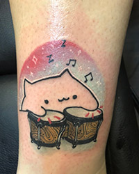 anime tattoo