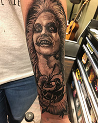 beetle juice tattoo