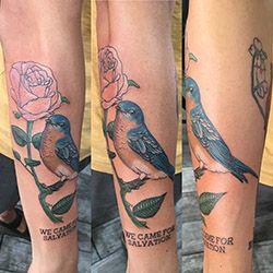 song bird tattoo